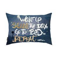 Oliver Gal 'Seize it Denim'DecorativeThrow Pillow