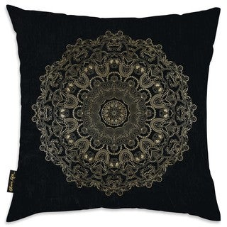 Oliver Gal 'Paisley Mandala' Decorative Throw Pillow