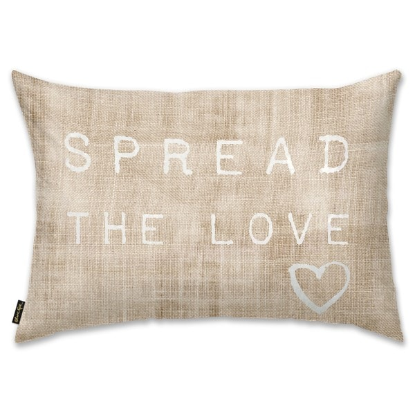 Oliver Gal 'Spread the Love' Decorative Throw Pillow