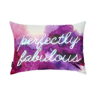 Oliver Gal 'Perfectly Fabulous' Decorative Throw Pillow