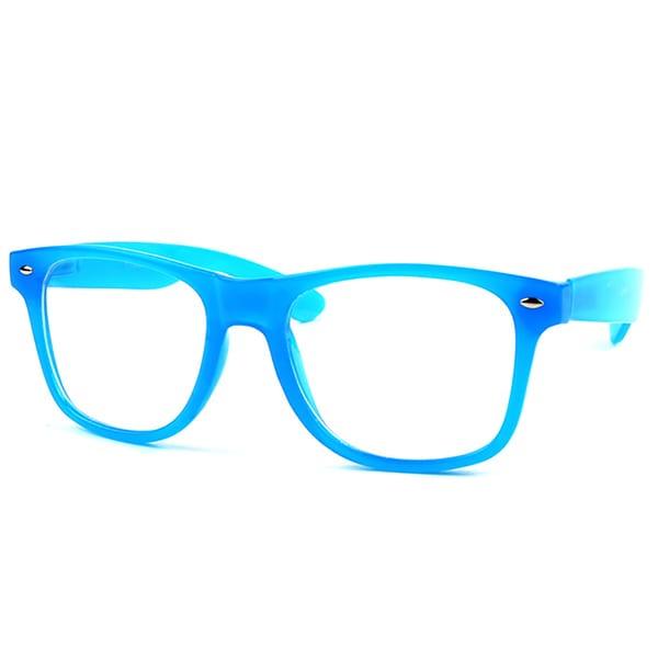Pop Fashionwear P713CL Wayfarer Unisex Clear Lens Spring Hinge Glasses. Opens flyout.