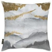 Oliver Gal 'Tibet Mountains' Decorative Throw Pillow