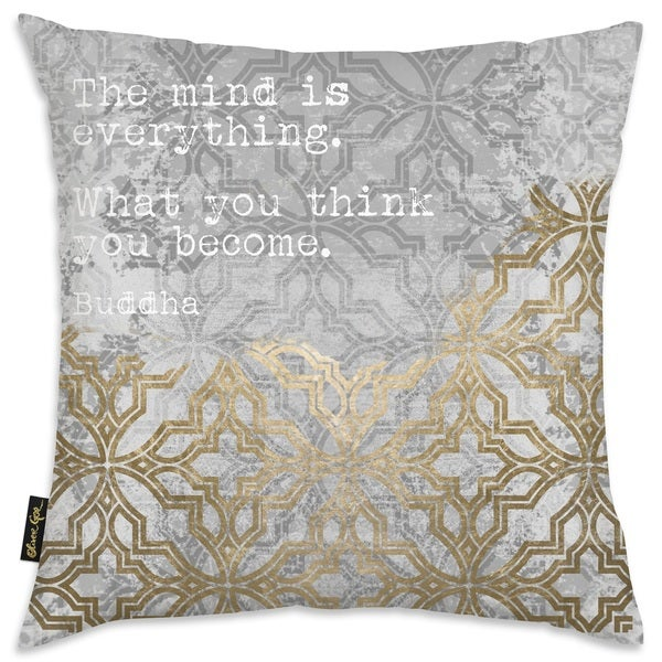 Oliver Gal 'What You Think You Are' Decorative Throw Pillow
