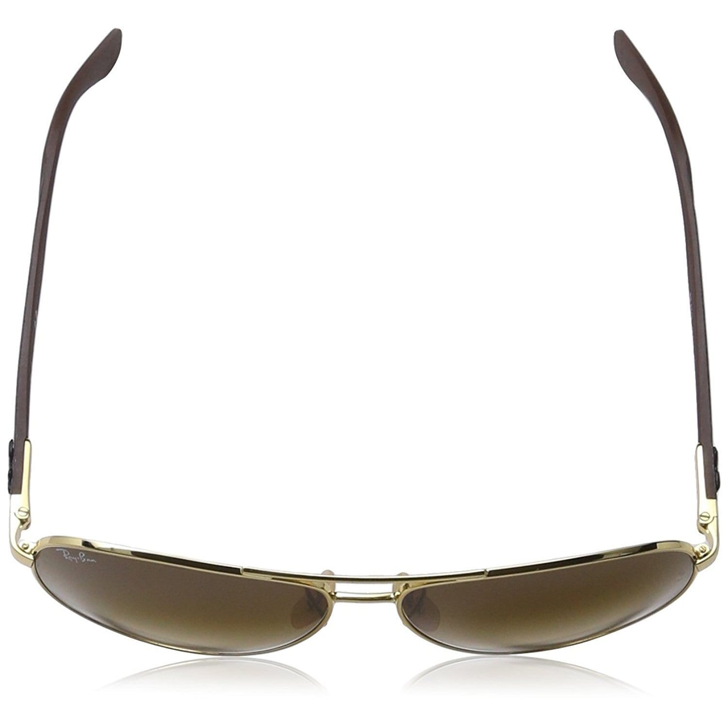 2400d06e5d Shop Ray-Ban RB8313 001 51 Unisex Gold Grey Frame Light Brown Gradient Lens  Sunglasses - Free Shipping Today - Overstock - 15811971
