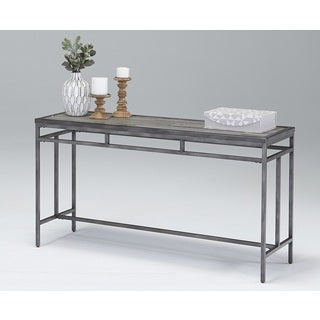Carbon Loft Hagens Grey Console Table