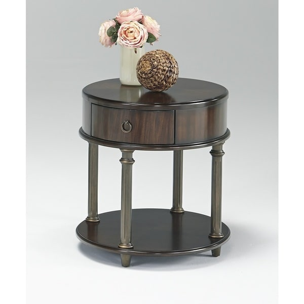 Gracewood Hollow Lubonja Round Chairside Table