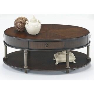 Progressive Regent Court Oval Cocktail Table