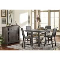 Willow Rectangular Counter Table - Grey