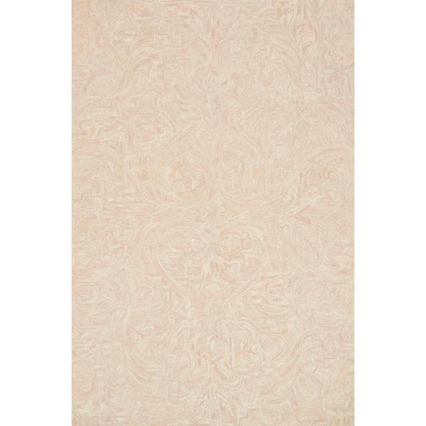 Hand-hooked Opal Blush Rug (3'6 x 5'6)