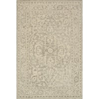 Hand-hooked Opal Stone Rug (7'9 x 9'9)