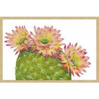 Desert Blossoms I' Framed Painting Print