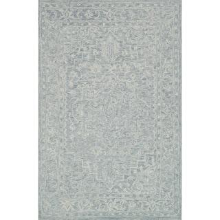 """Hand-hooked Opal Slate Rug (3'6 x 5'6) - 3'6"""" x 5'6"""""""