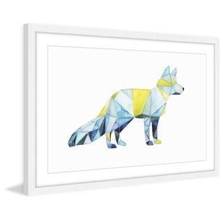 Geo Animal IV' Framed Painting Print