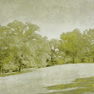 Beryl Landscape II' Painting Print on Wrapped Canvas