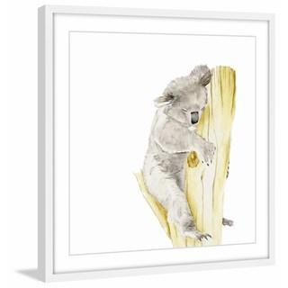 Baby Koala I' Framed Painting Print