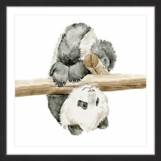 Baby Panda II' Framed Painting Print