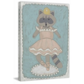Ballerina Animal III' Painting Print on Wrapped Canvas