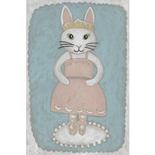 Ballerina Animal II' Painting Print on Wrapped Canvas