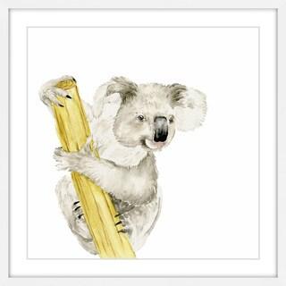 Baby Koala II' Framed Painting Print