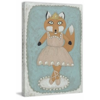 Ballerina Animal I' Painting Print on Wrapped Canvas