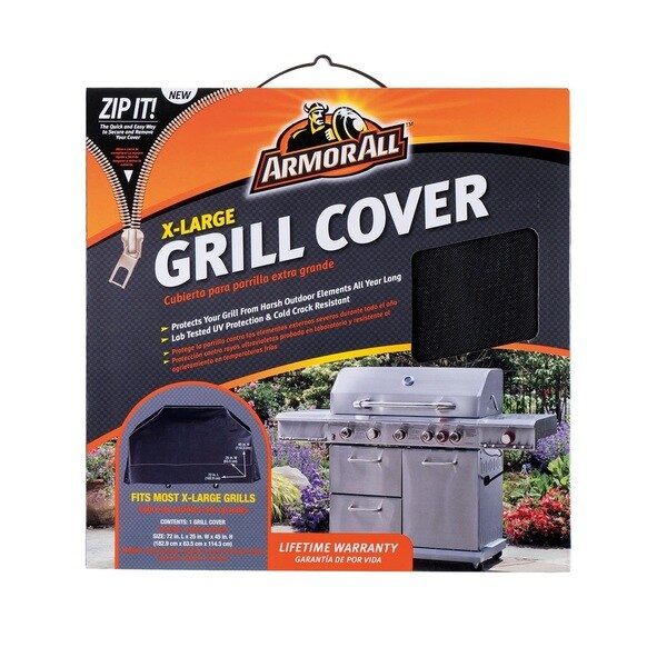 Shop Armor All 72 Grill Cover Free Shipping Today Overstock Com