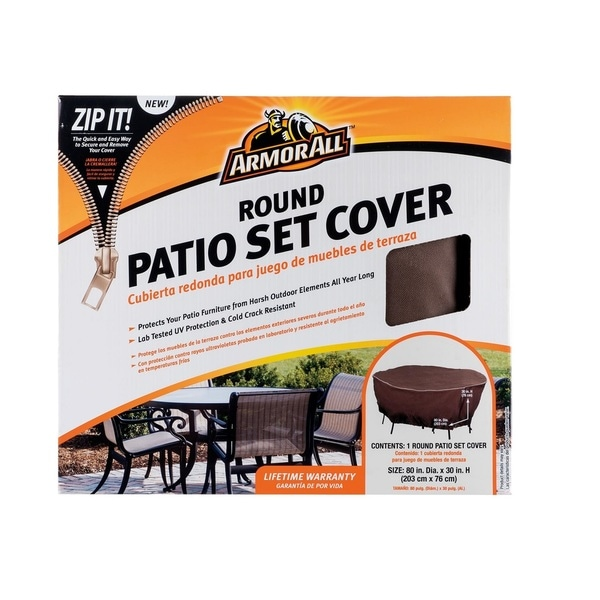 Shop Armor All Round Patio Set Cover Free Shipping Today