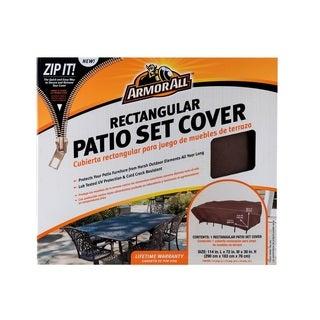 Armor All Rectangular Patio Set Cover