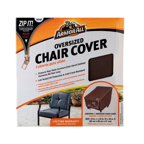 Shop Armor All Oversized Chair Cover Free Shipping Today