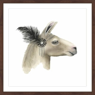 Downton Animals I' Framed Painting Print