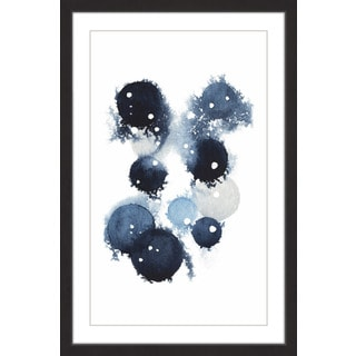 Blue Galaxy IV' Framed Painting Print