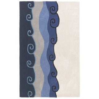 Hand-tufted Malibu Wool Rug (8' x 11') - 8' x 11'