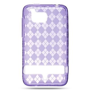 Insten TPU Rubber Candy Skin Case Cover For HTC ThunderBolt 4G