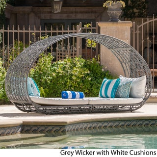 Boca Grande Outdoor Daybed with Cushions by Christopher Knight Home (2 options available)