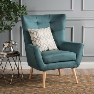 Tamsin Mid-Century Fabric Club Chair by Christopher Knight Home