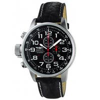 Invicta Men's  Terra Military Chrono Leather Watch