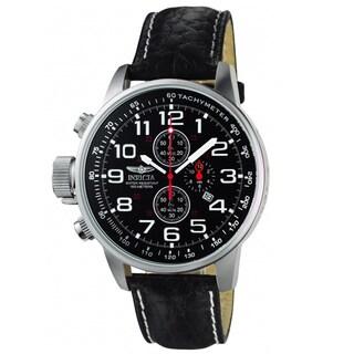 Invicta Men's 2770 Terra Military Chrono Leather Watch