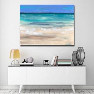 'Wateryview' Ready2HangArt Canvas by Dana McMillan