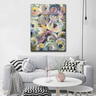 'Spring Flowers' Ready2HangArt Canvas by Dana McMillan