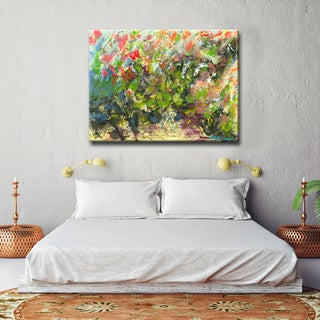 'My Garden' Ready2HangArt Canvas by Dana McMillan