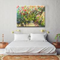 'My Garden' Ready2HangArt Canvas by Dana McMillan