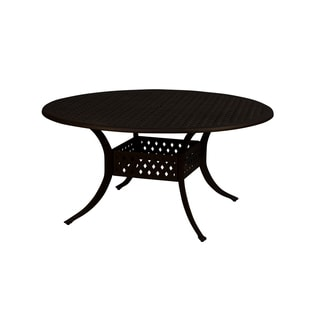 Lattice Work 48-inch Round Dining Table