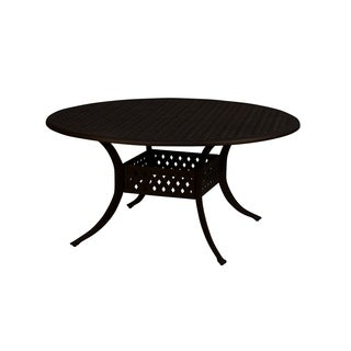 Lattice Work 48-inch Round Dining Table