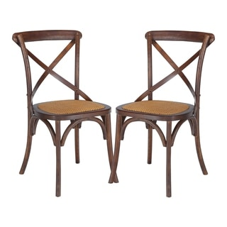 Poly and Bark Cafton Crossback Chair (Set of 2)