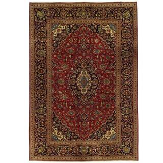 Handmade One-of-a-Kind Kashan Wool Rug (Iran) - 7'11 x 11'9