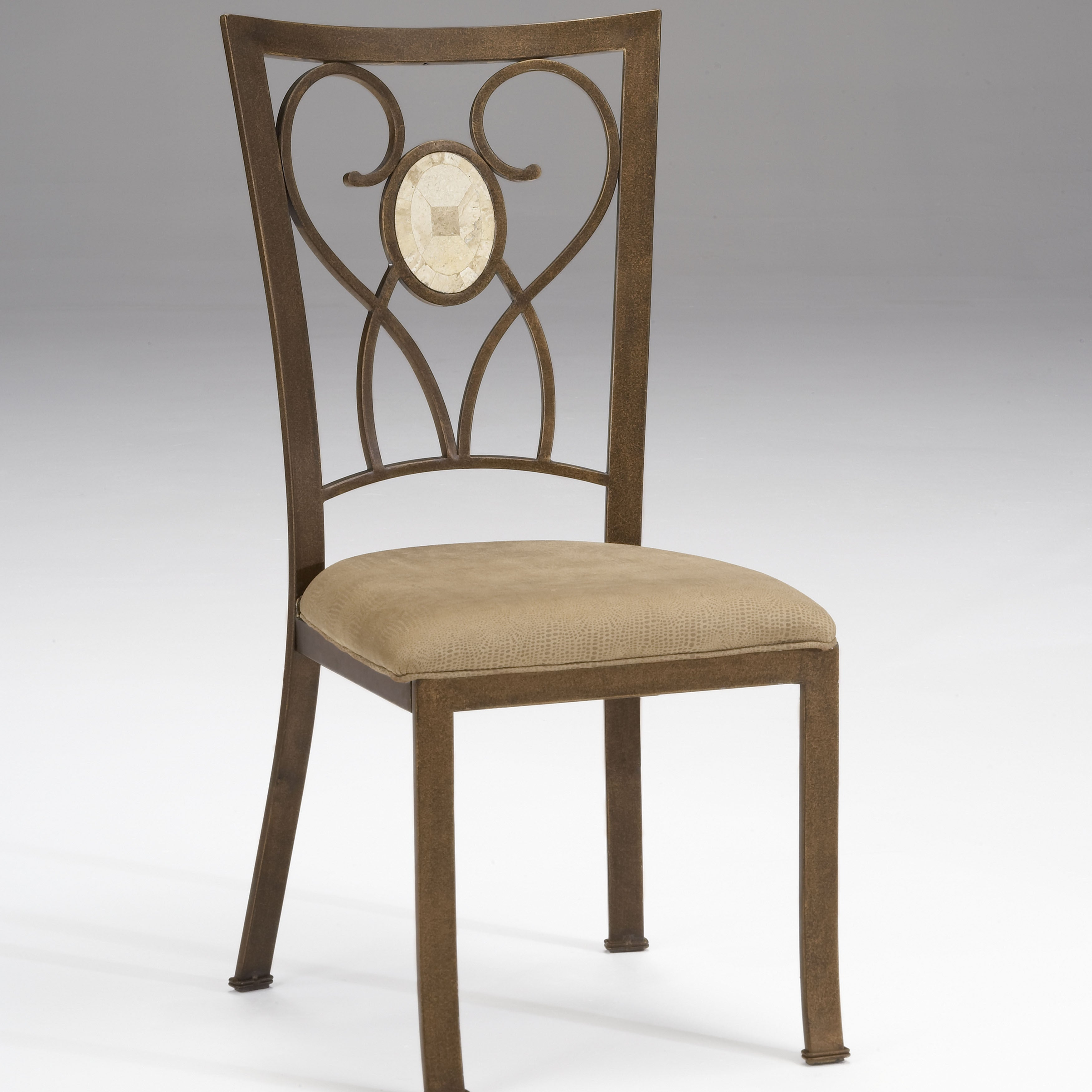Shop Hillsdale Furniture Brookside Oval Fossil Back Dining Chair