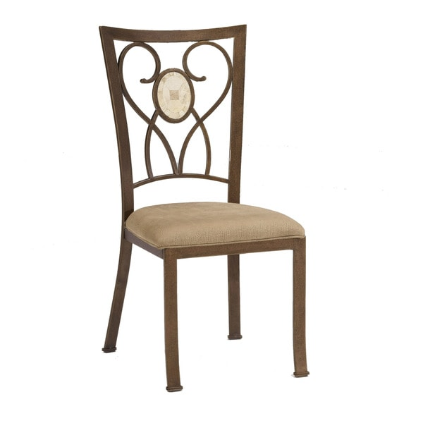 Hillsdale Furniture Brookside Oval Fossil Back Dining Chair (Set Of 2)