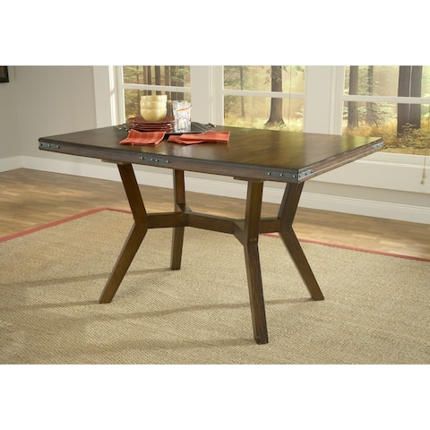Hillsdale Furniture Arbor Hill Chestnut Finish Extension Gathering Table - Brown