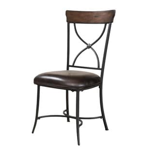 Hillsdale Furniture Cameron Chestnut Brown X-back Dining Chairs (Set of 2)