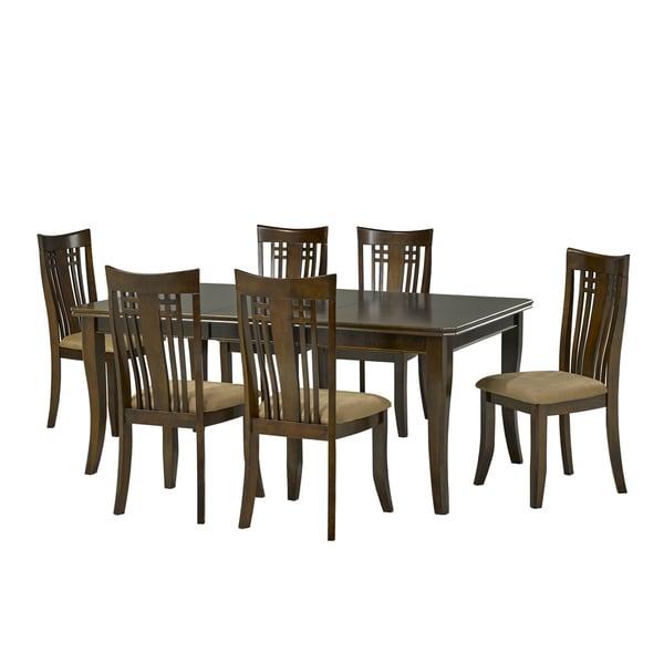 Brex 877 22 Felix Walnut 7 Piece Dining Set