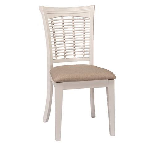 Hillsdale Furniture Bayberry White Wood Dining Chairs (Set of 2)